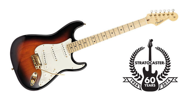 Available for 2014 only, the American Standard Commemorative Strat is an impressive-looking animal