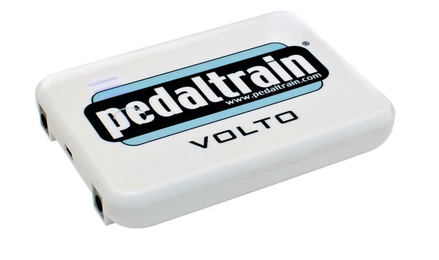 The Volto charges via a USB connection and can power plenty of pedals