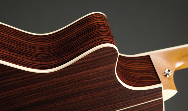 East Indian rosewood remains the back-and-sides material for the 800 Series