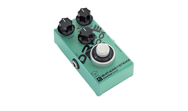 The robust footswitch is GuitarSystems' own design and is dubbed the PaulSwitch