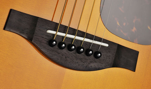 The excellent finish on the LJ6 is typical of Yamaha's usual high standards