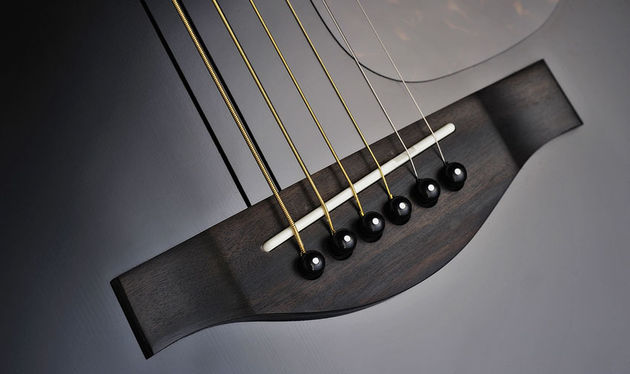 The LL16D has an ebony bridge