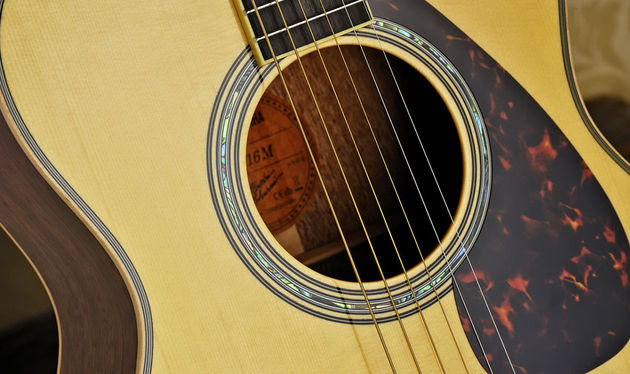 The LS16M, like all of the 16 Series instruments, has a solid Engelmann spruce top