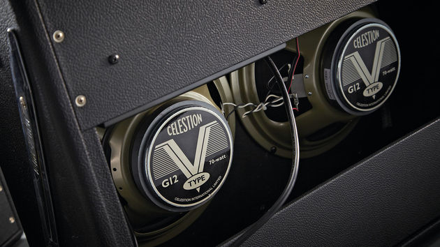 The Twin comes equipped with a pair of Celestion G12V-70s