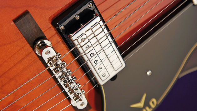 The 'Anti Hum Pickups' first appeared in 1962, and were smaller than Gibson's humbucker. The modern versions are relatively low in output