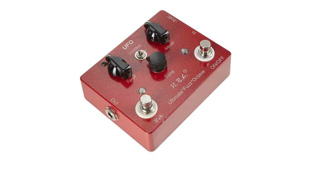 The 'Vin/Mod' switch takes you between the two fuzz flavours