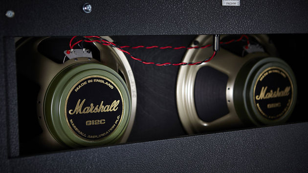 The 1962 combo uses Celestion's excellent G12 Greenback