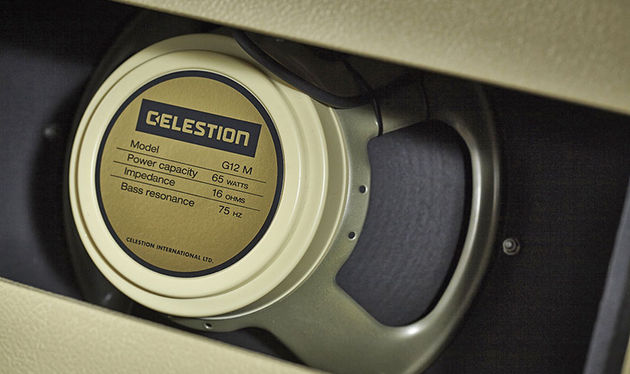 The Celestion Creamback offers classic G12M tone at higher power levels