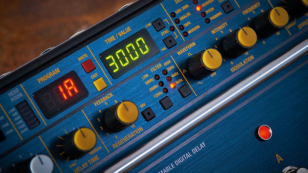 The SDD-3000's many delay types are quick and easy to move between
