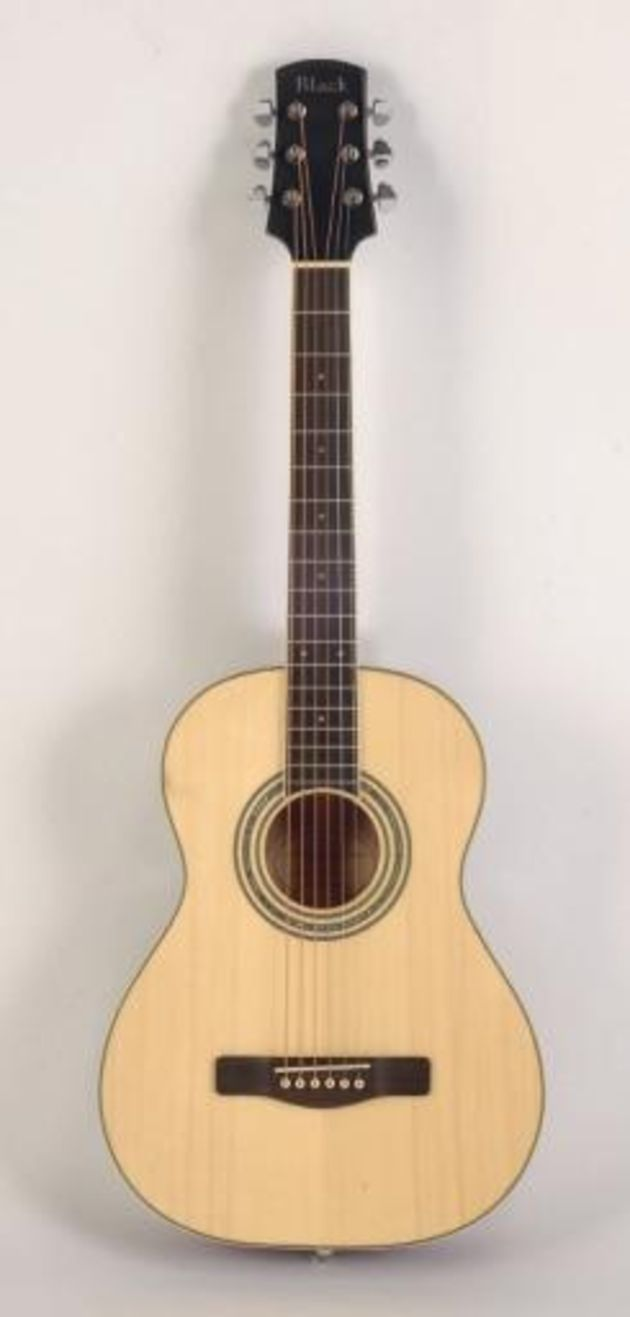 The T-5 is tastefully finished and is an ideal travel guitar