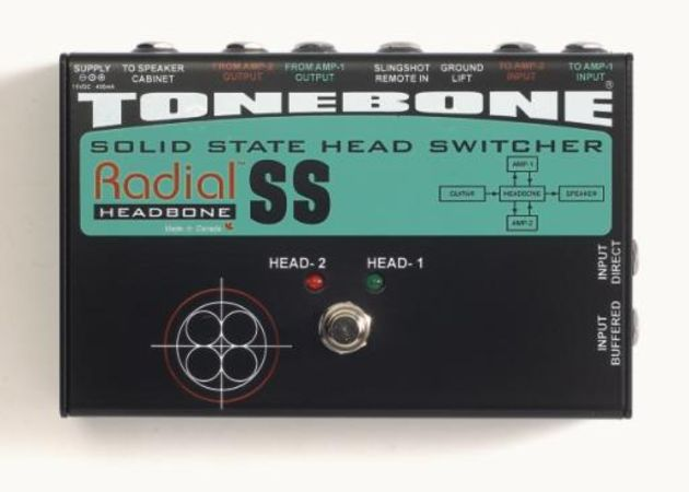 Radial's Head-bone: a solid state head switcher.