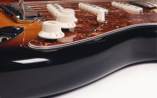 Two pull/push pots open up five new tones on your Strat.