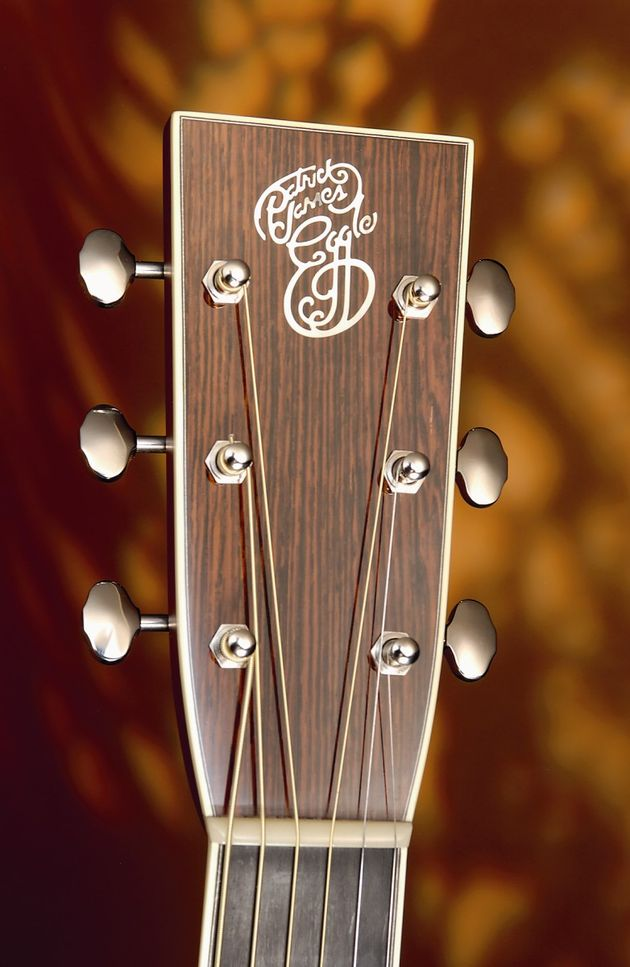The Martin-inspired headstock oozes class.