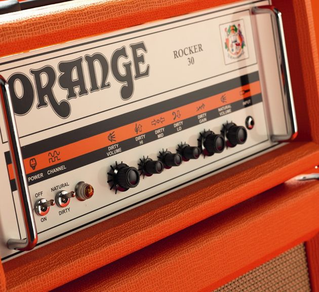 The Rocker 30 head serves up that trademark Orange tone.
