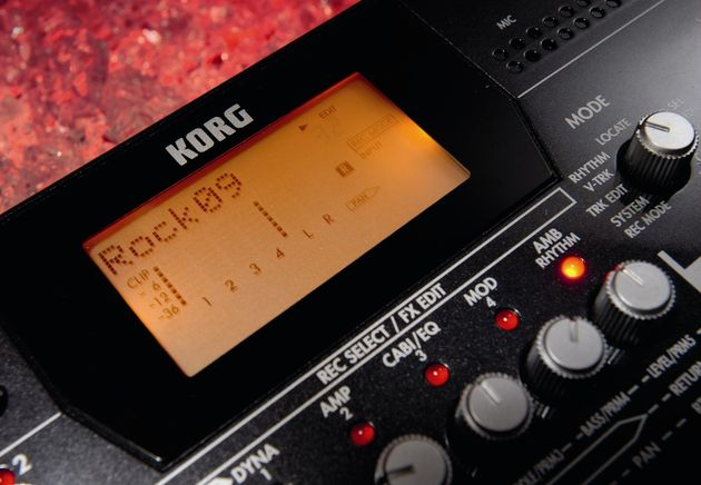 The Korg D4 comes complete with good preset drum rhythms