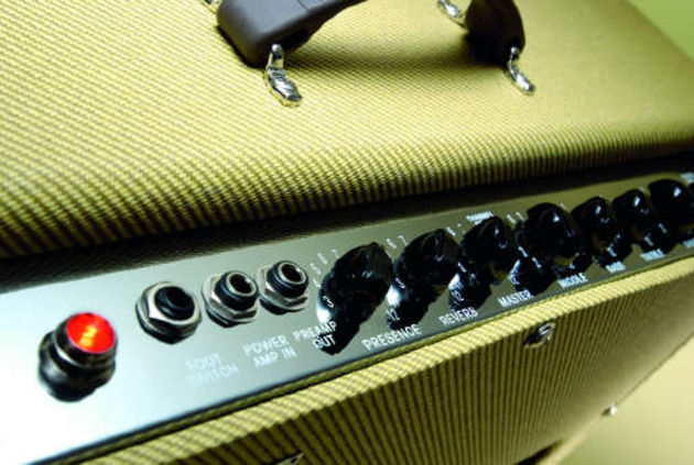 Old-school cosmetics and plenty of that classic Fender amp tone