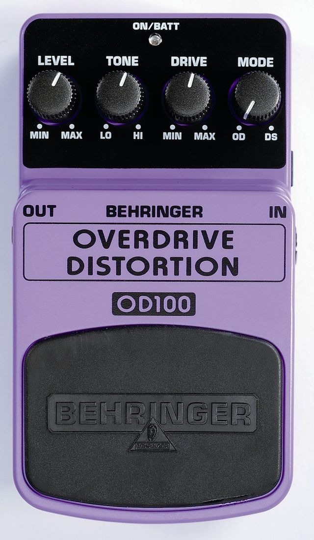 Overdrive distortion.