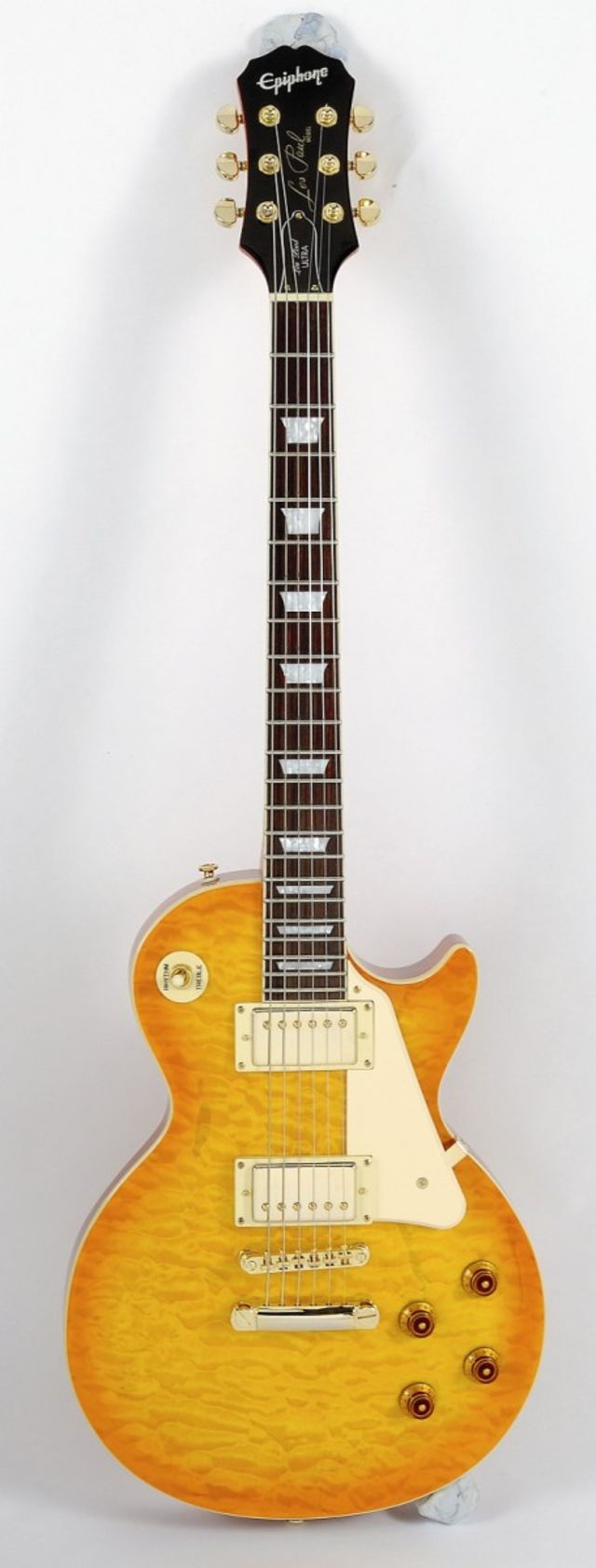 The Epiphone Les Paul Ultra in all its glory