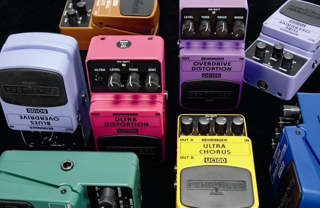 Behringer's unbelievably affordable pedals.