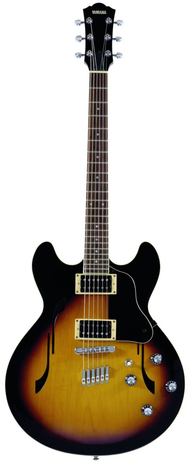 The SA500 is a double cutaway guitar.