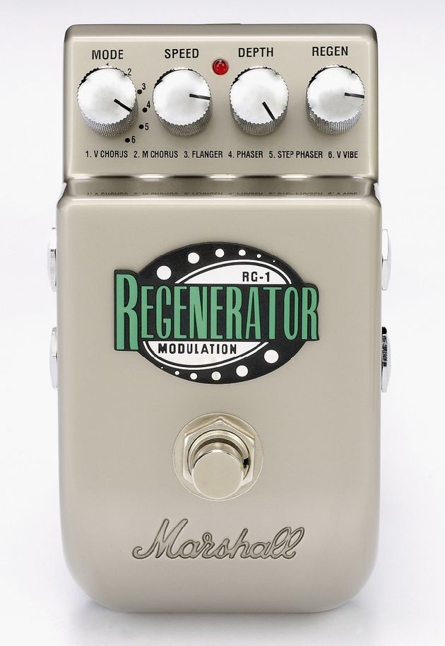 The RG-1 Regenerator perform best on vibe and phaser settings