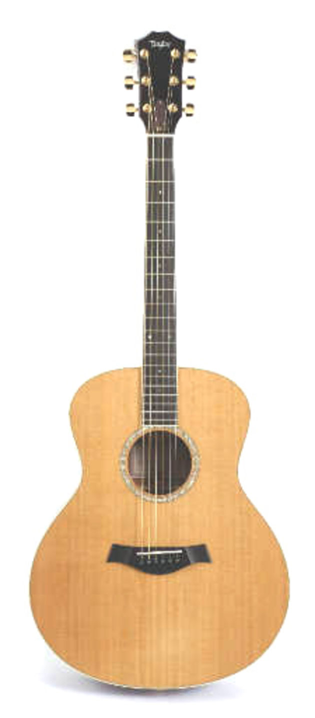 Taylor's GSMS: a cross between a grand auditorium and a dreadnought.