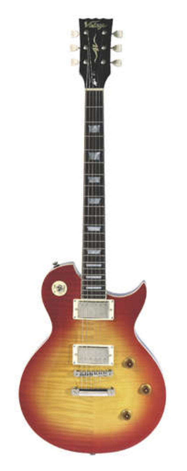 The Advance AV1: an original variation on the Les Paul design!