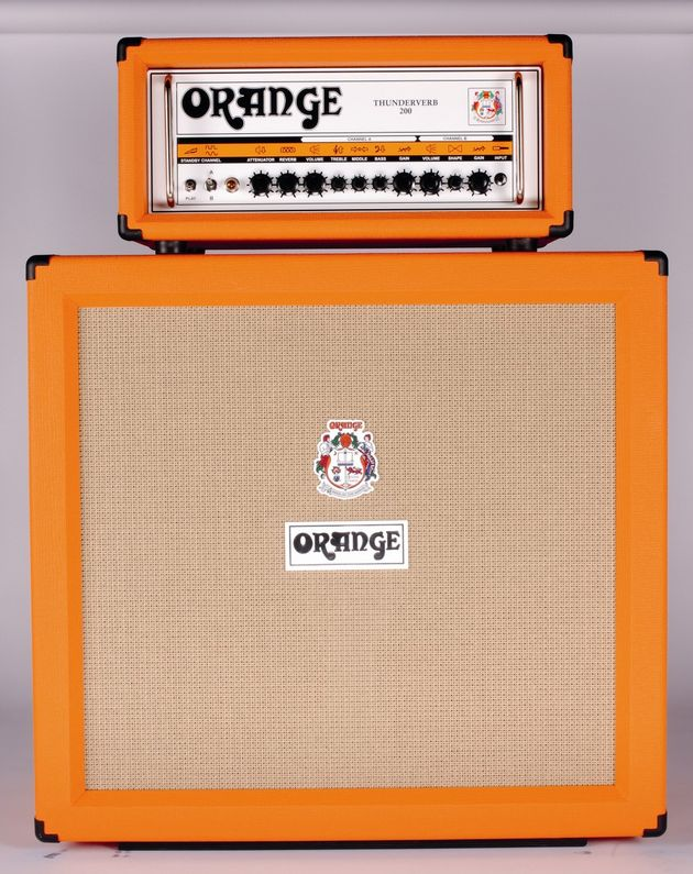 The Orange Thunderverb head is typically bold