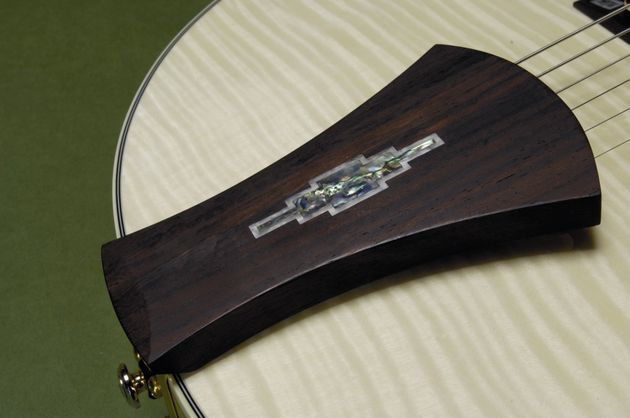 The AF105 is a fully hollow guitar.
