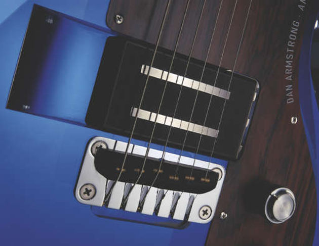 The interchangable pickups are a truly unique feature