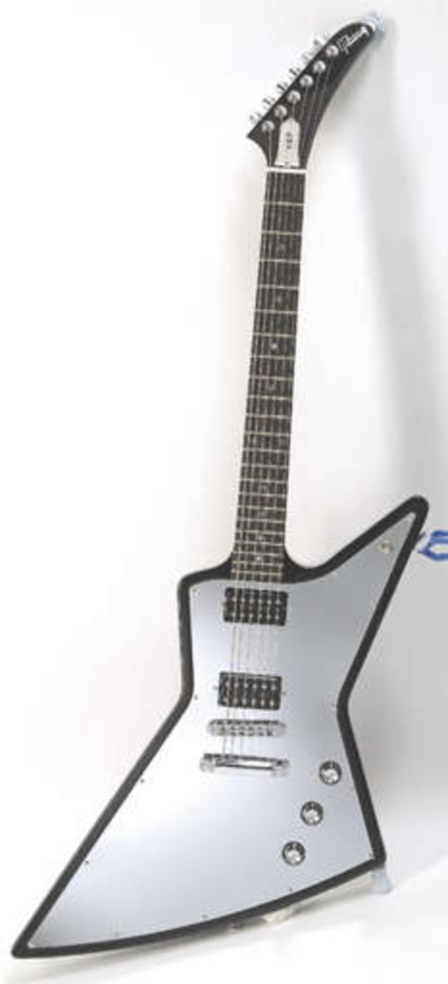 Gibson's new X-Plorer: made for metal!