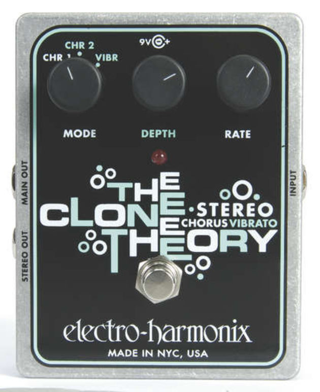 The Clone Theory is slightly underwhelming for an E-H pedal.