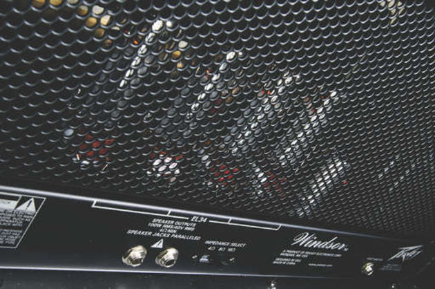 The Windsor's four EL34 power amp valves provide plenty of grunt