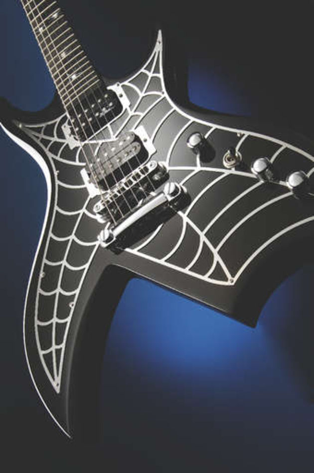The Bich's chromed web will look fantasic on stage