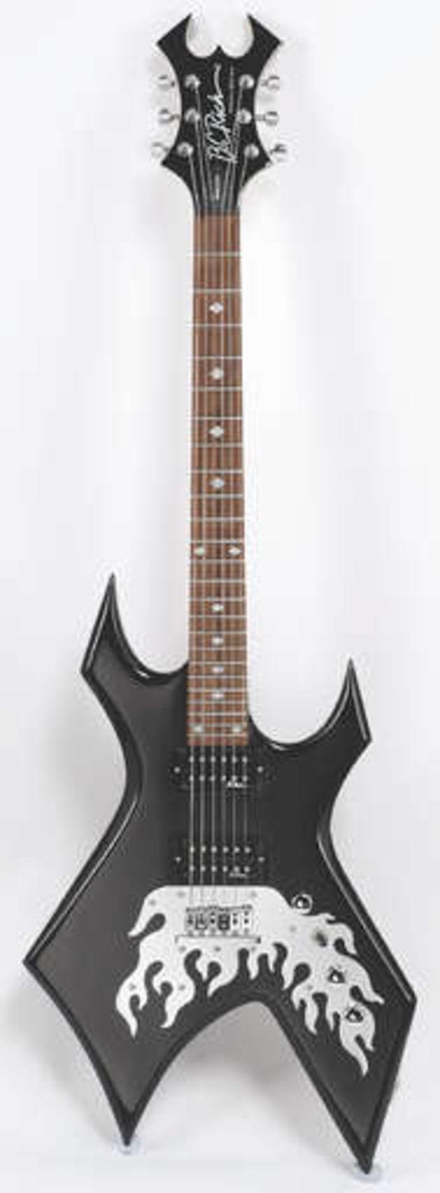 bc rich afterburner warlock guitar reviews musicradar. Black Bedroom Furniture Sets. Home Design Ideas