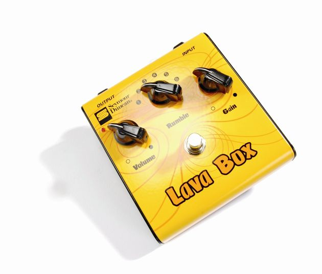 The Lava Box offers a variety of fuzz tones.