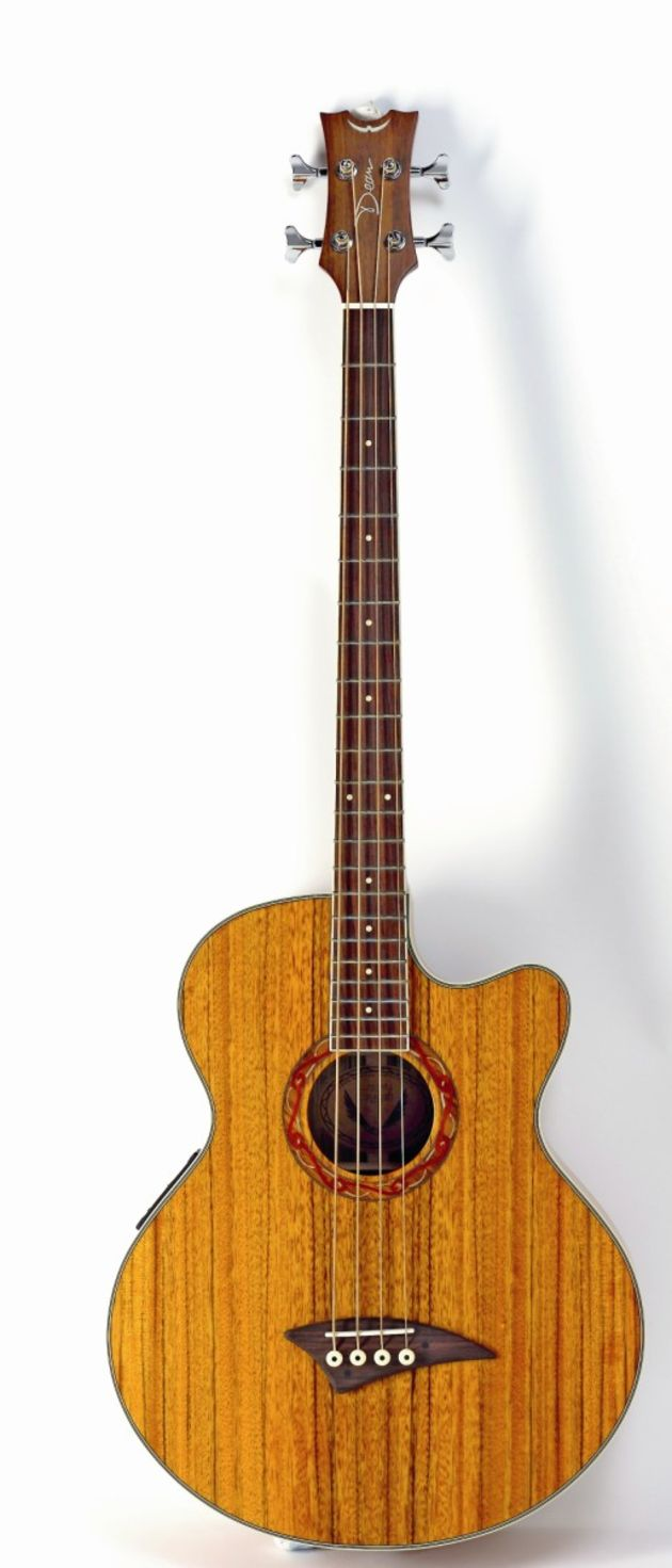 Highly figured dao wood gives this bass a touch of class