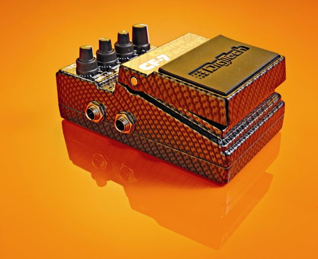 Seven chorus models in one stompbox