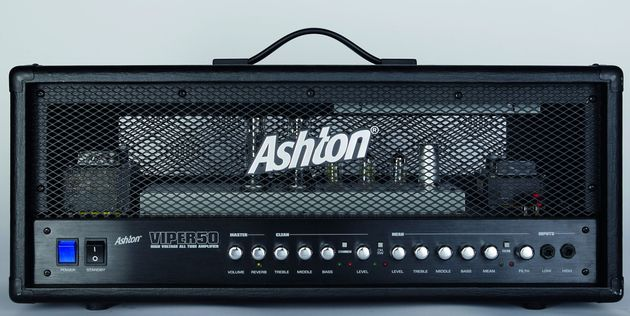The Ashton's clean, all-black look reminds us of classic 80s amps