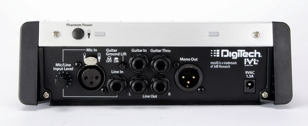 The Vocalist is designed to come first in the signal chain after the guitar