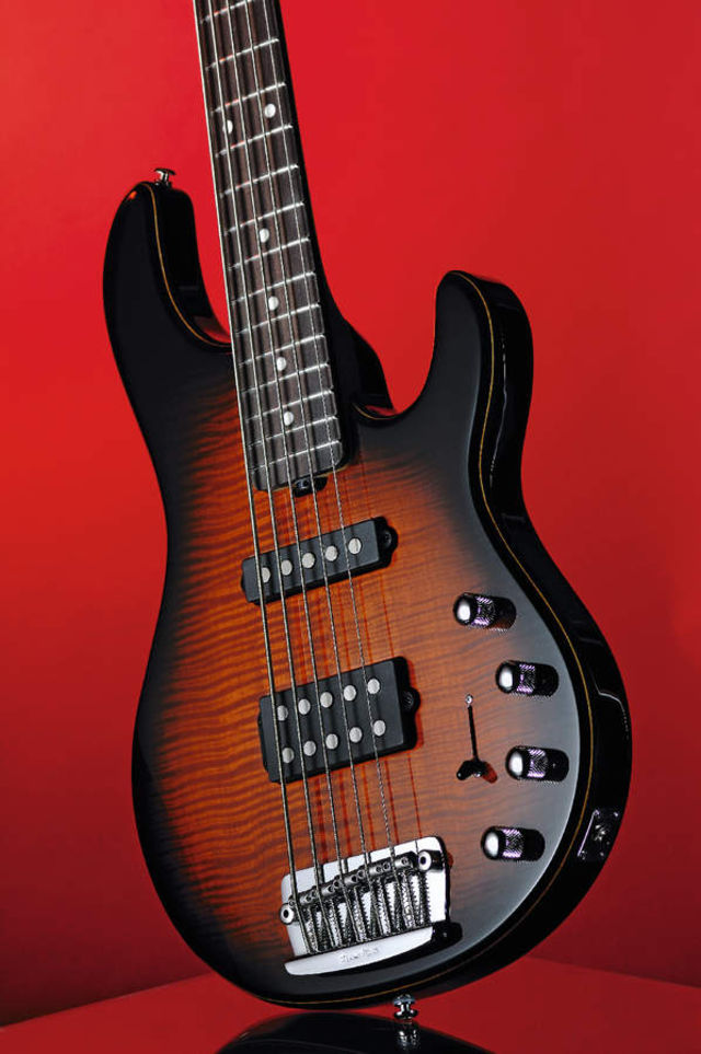 Music Man's 20th Anniversary Stingray 5