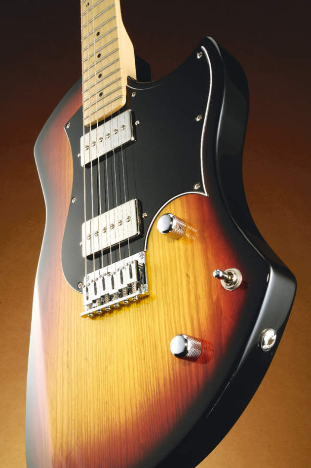 A pair of Seymour Duncan Phat Cats provide plenty of raunch and twang