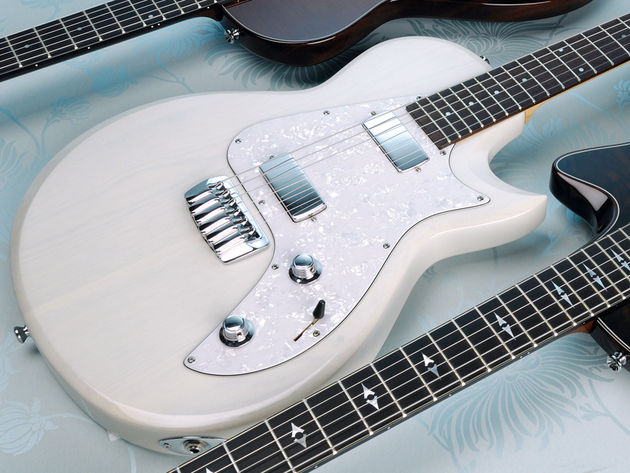 The Classic is the only guitar in the series with a completely solid body