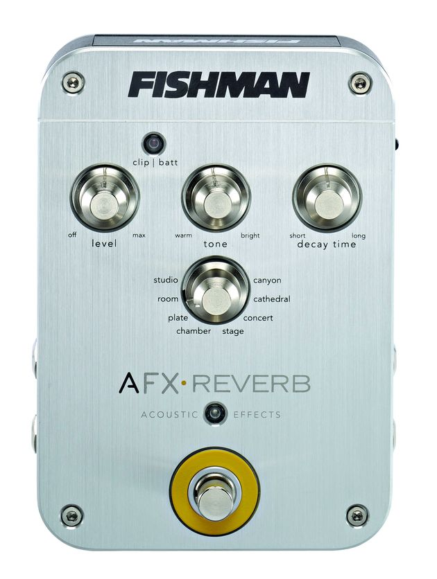 The AFX Reverb is well built and easy to use.