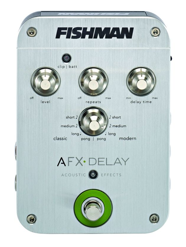 The AFX Delay pedal was made for use with acoustic guitars.