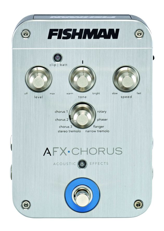 The AFX Chorus offers a variety of modulation effects.