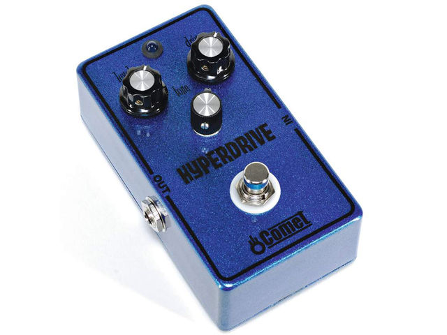 The Comet Hyperdrive is an attractive boutique pedal with tone to match