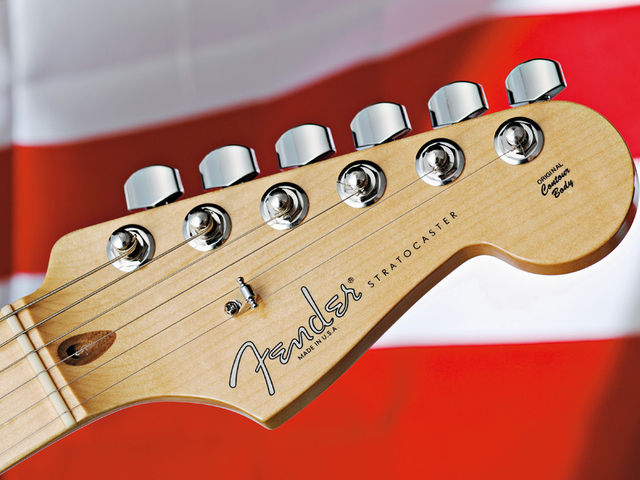 Probably the most famous headstock in the world...