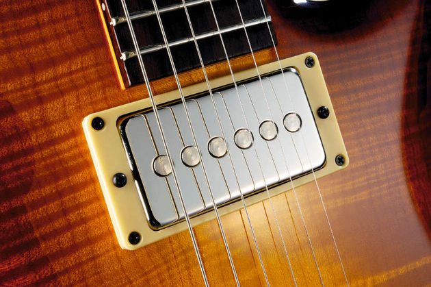 Double-D Seymour Duncan pickups designed to Jol Dantzig's specifications