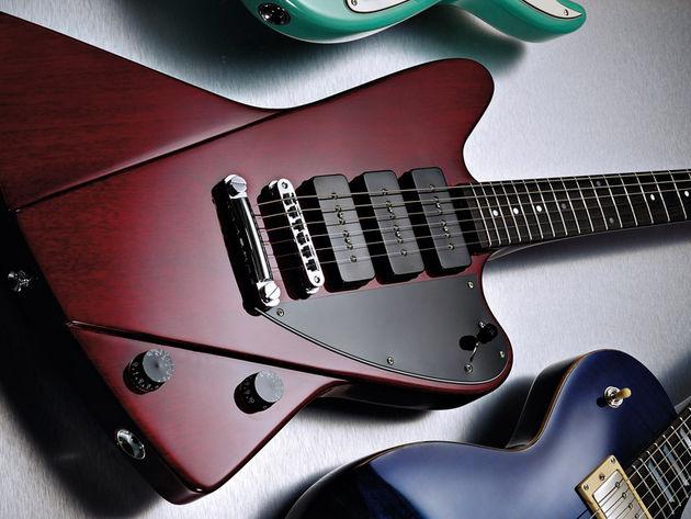 fret king blue label esprit 3 guitar reviews musicradar. Black Bedroom Furniture Sets. Home Design Ideas